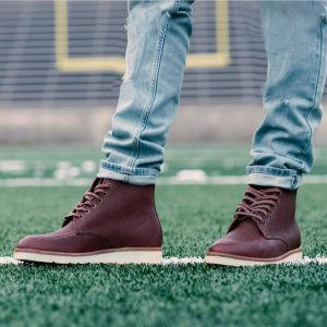 Burgundy Shoes 14