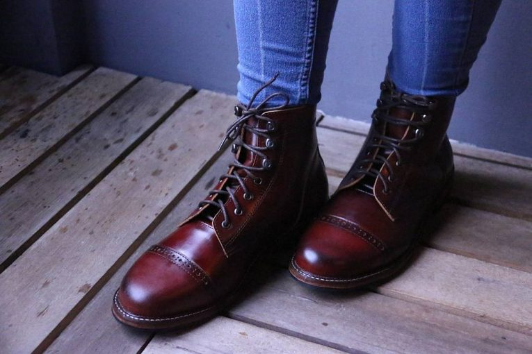 Burgundy Shoes 16