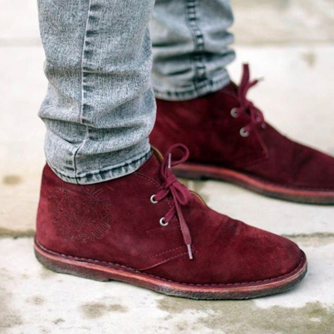 Burgundy Shoes 2