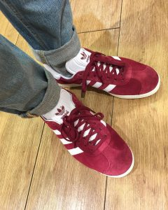 Burgundy Shoes 3