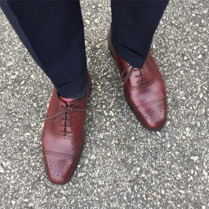 Burgundy Shoes 4