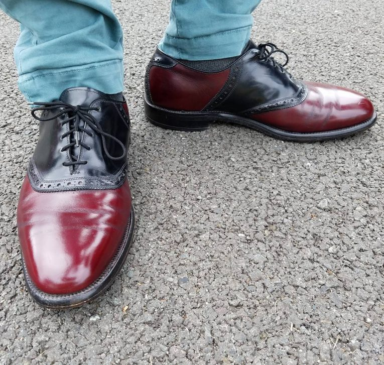 Burgundy Shoes 5