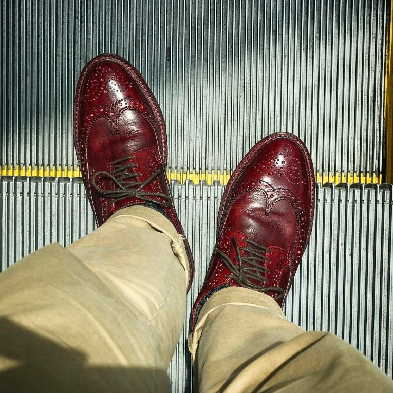 Burgundy Shoes 7