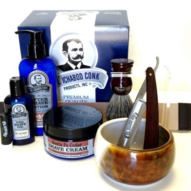 colonel-conk-model-2316-straight-razor-set-with-santa-fe-bowl