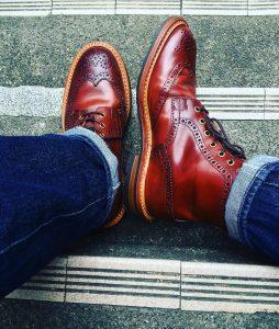 Cordovan Shoes 42