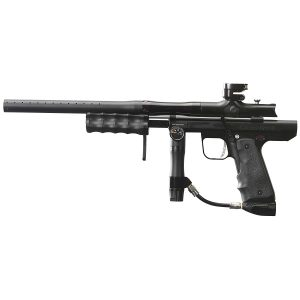 Empire Paintball Sniper Pump Marker with Barrel Kit, Dust Black Polished Black