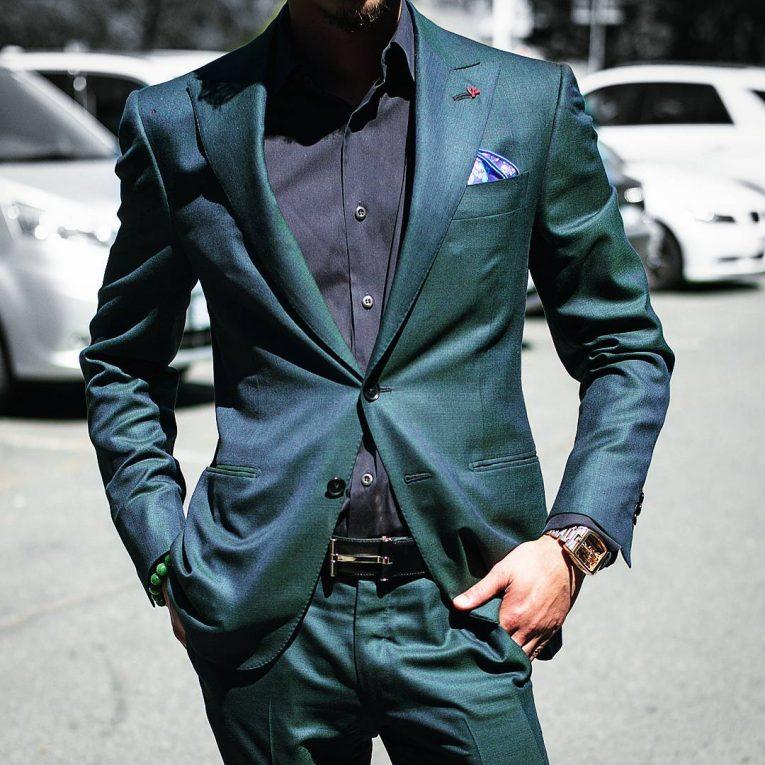 Green Suit 16