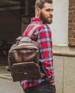 Leather Backpack 29