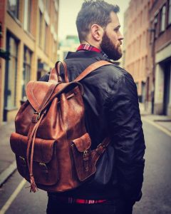 Leather Backpack 30
