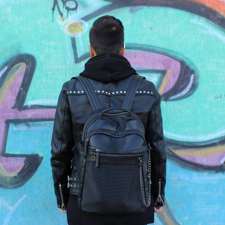 Leather Backpack 37