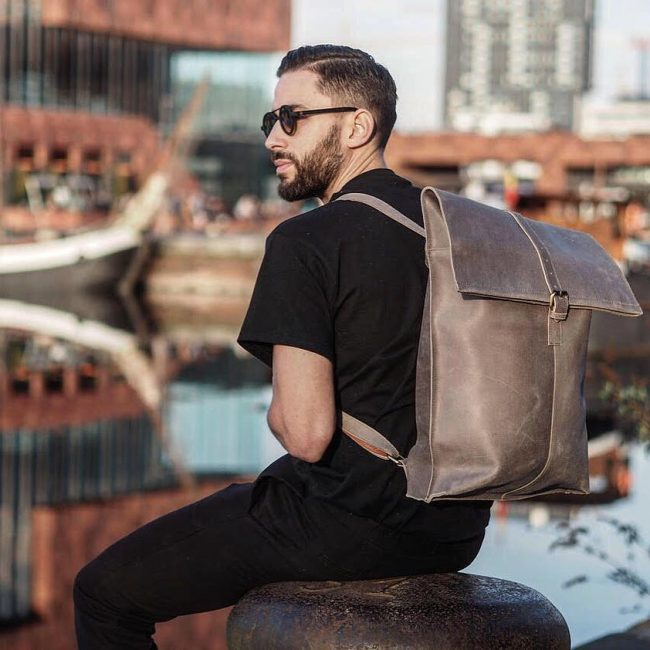 Leather Backpack 41