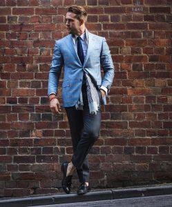Light Gray Suit 11