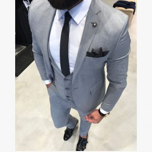 Light Gray Suit 13