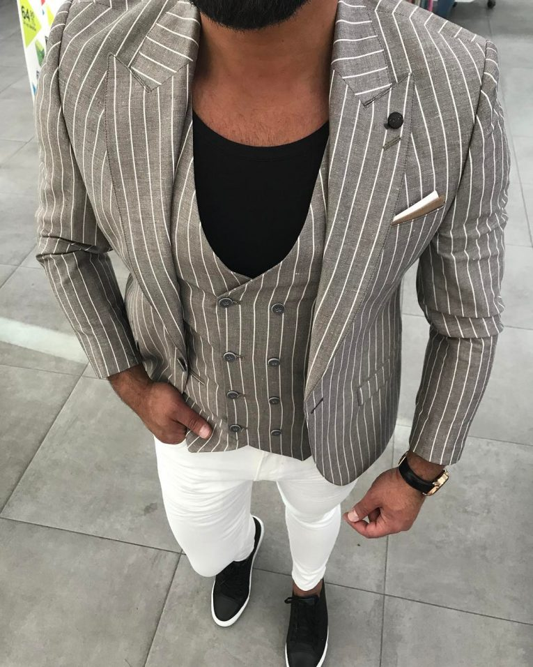 Light Gray Suit 14