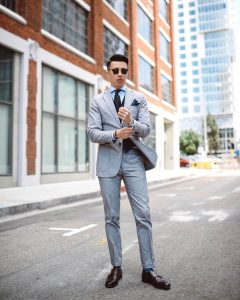 Light Gray Suit 5