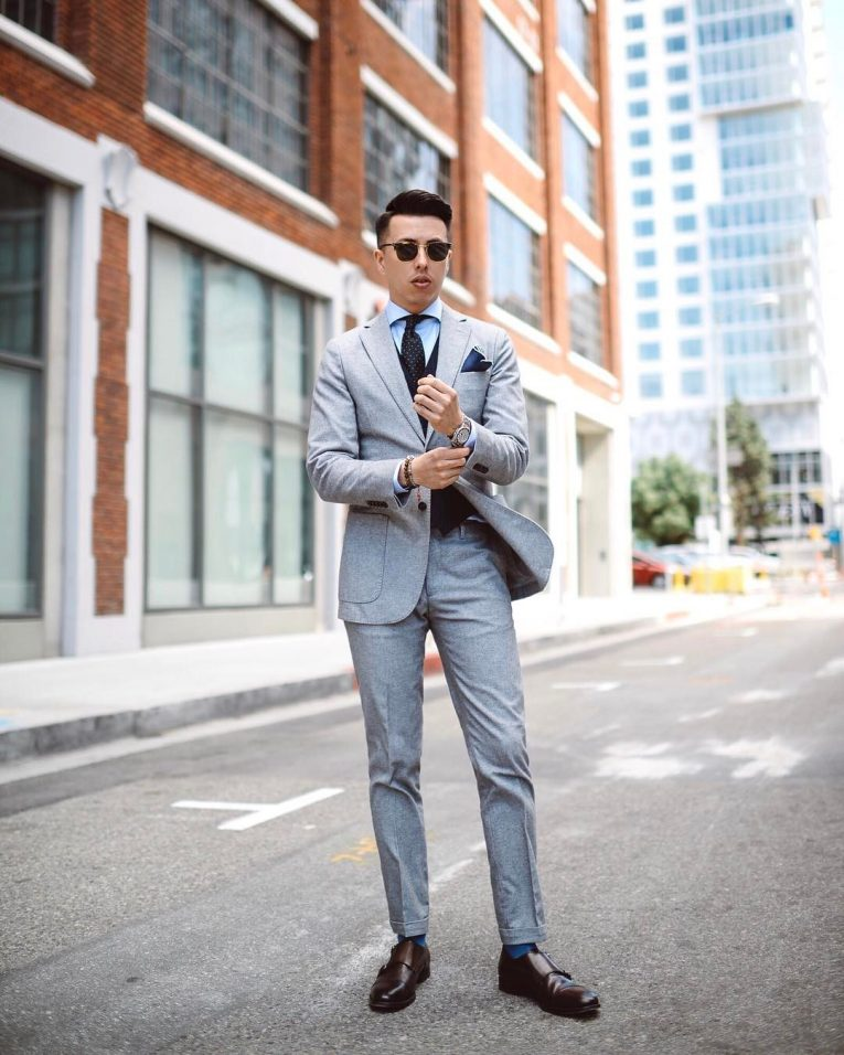 Light Gray Suit 5