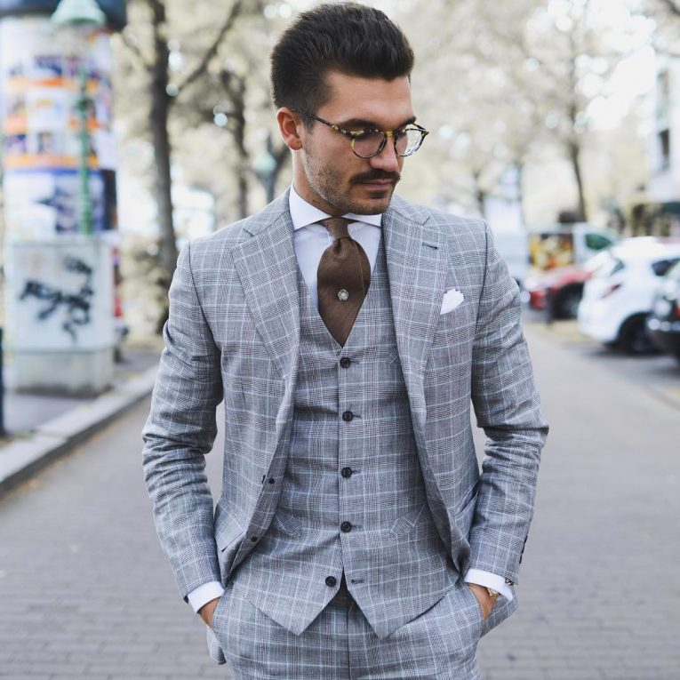Light Gray Suit 8