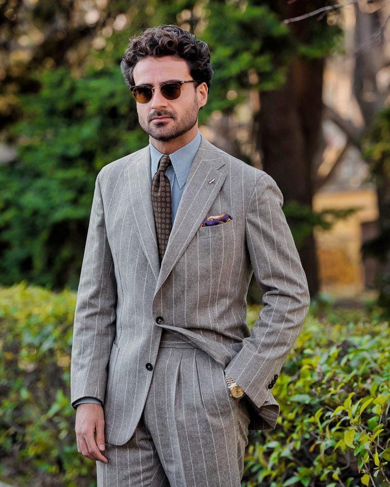 Light Gray Suit 9