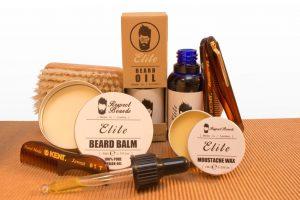 Luxury Full Beard Care Kit with Combs & Brush - Elite by Respect Beards