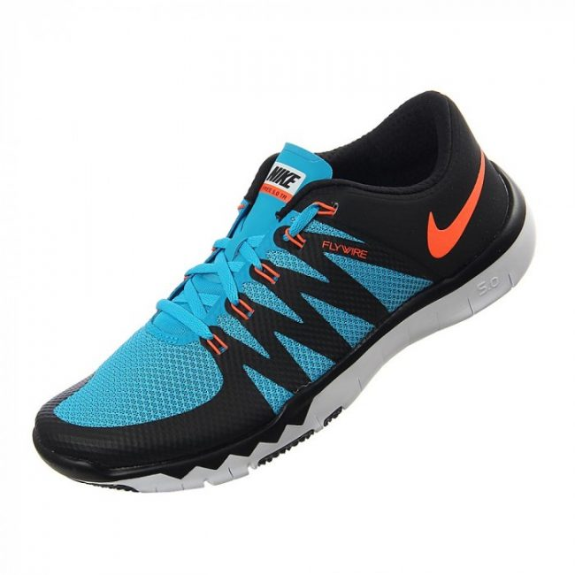 Nike Men's Free Trainer 5.0 V6 BlackHypr OrangeBl LgnWhite Running Shoe 9 Men US
