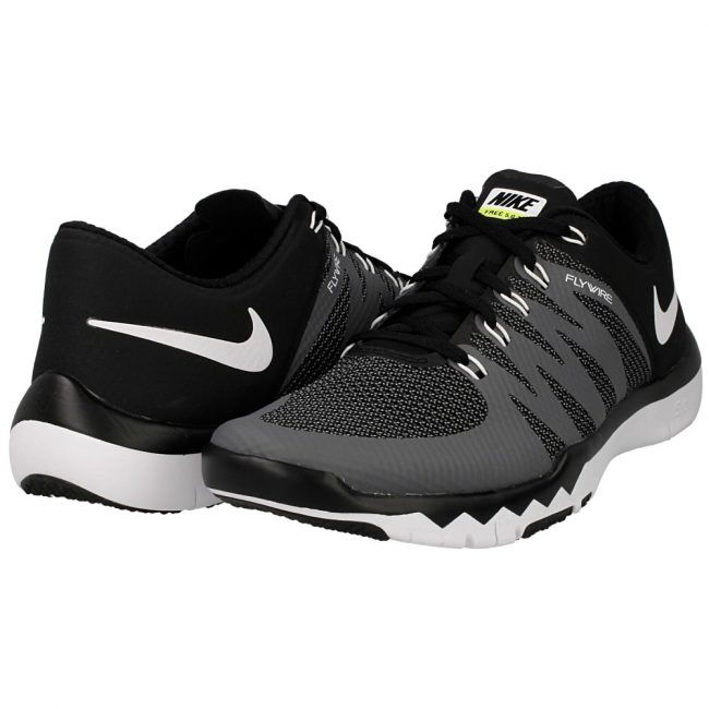 Nike Men's Free Trainer 5.0 V6 BlackWhiteDark GreyVolt Running Shoe 8.5 Men US