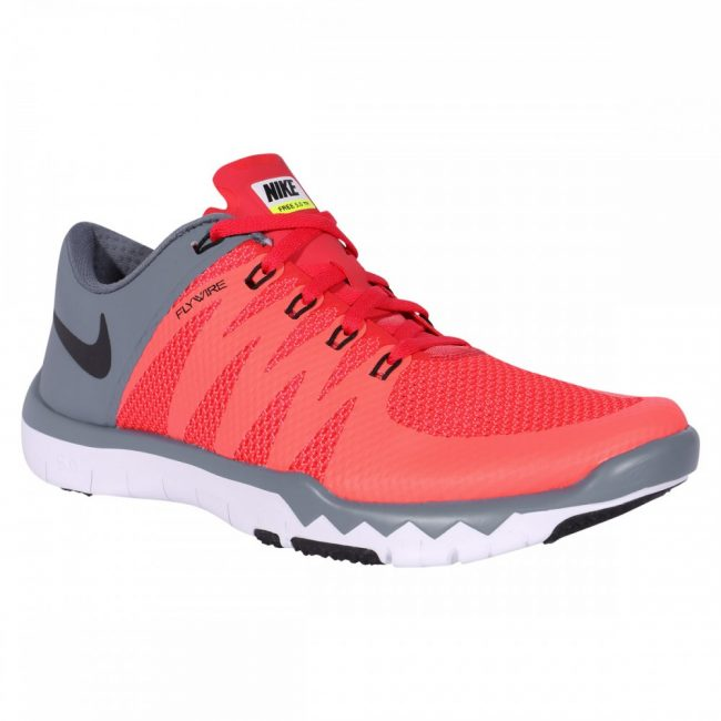 Nike Men's Free Trainer 5.0 V6 Daring RedBlackBlue Graphite Running Shoe 11.5 Men US