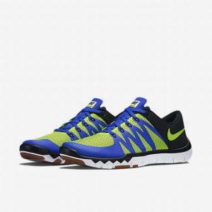 Nike Men's Free Trainer 5.0 V6 Game RoyalVoltBlackCl Grey Training Shoe 9 Men US