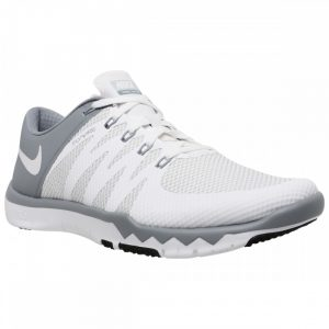 Nike Men's Free Trainer 5.0 V6 WhiteWhiteDove GreyPr Pltnm Training Shoe1