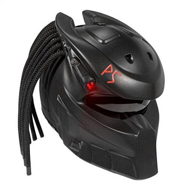 Predator Strong custom DOT motorcycle helmet