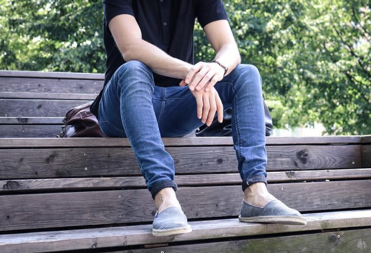 Rolled Up Jeans 55