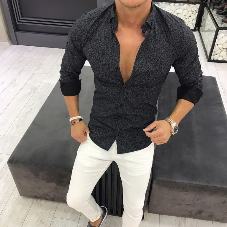 Slim Fit Shirts 13