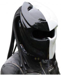 X-FF Fiber Factory - Predator Motorcycle Helmet - X1 Double Power