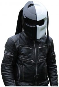 X-FF Fiber Factory - Predator Motorcycle Helmet - X1 Double Power (M)