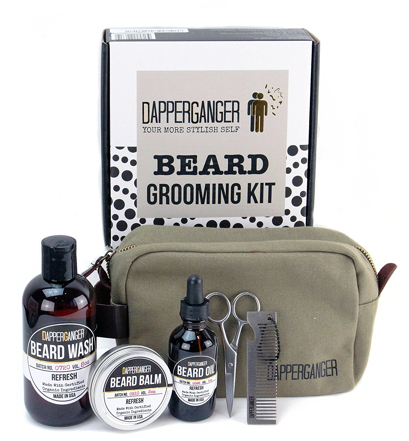 Beard Kit Grooming for Men By DapperGanger