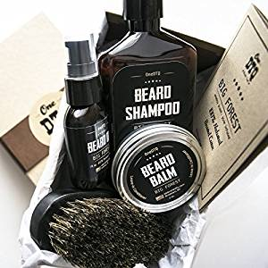 Big Forest Beard Grooming Kit: Beard Growth - Beard Shampoo, Beard Oil,...