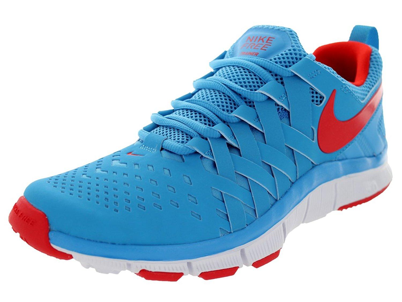 Nike Men's Free Trainer 5.0 NRG, BLACK/NEO-LIME-TOTAL CRIMSON (ORANGE)