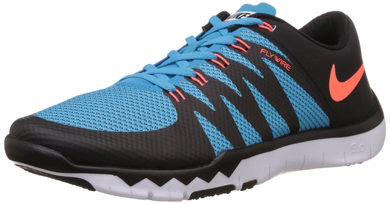 Nike Men's Free Trainer 5.0 V6 Black/Hypr Orange/Bl Lgn/White Running Shoe 9...
