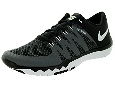Nike Men's Free Trainer 5.0 V6 Black/White/Dark Grey/Volt Running Shoe 8.5 Men...