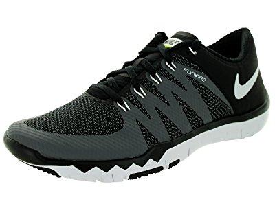 Nike Men's Free Trainer 5.0 V6 Black/White/Dark Grey/Volt Running Shoe 8.5 Men...