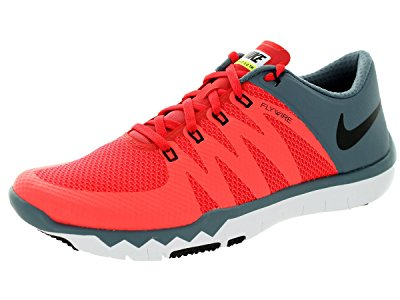 Nike Men's Free Trainer 5.0 V6 Daring Red/Black/Blue Graphite Running Shoe 11.5...