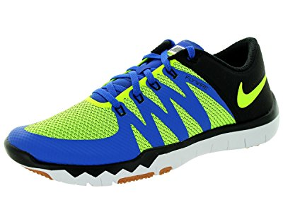 Nike Men's Free Trainer 5.0 V6 Game Royal/Volt/Black/Cl Grey Training Shoe 9...