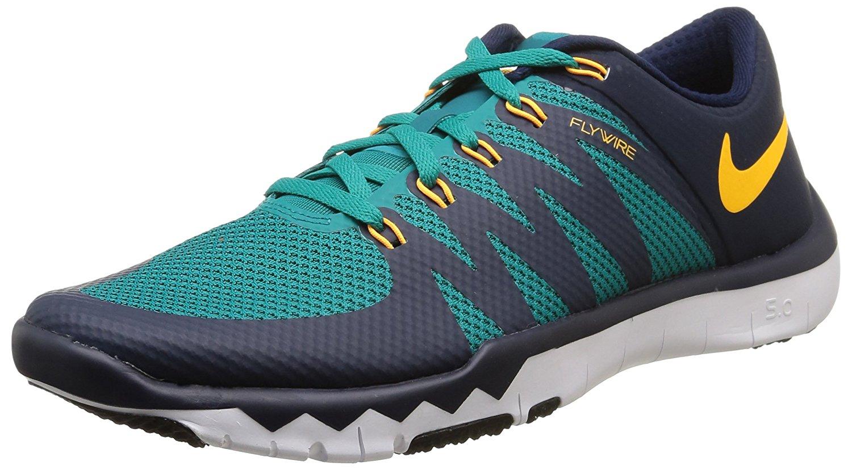 Nike Men's Free Trainer 5.0 V6 Rdnt Emrld/Lsr Orng/Obsdn/Sqdr Training Shoe 11...