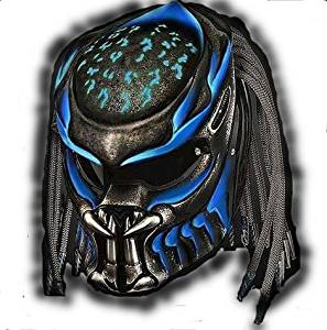 PREDATOR HELMET MOTORCYCLE STYLE DOT APPROVED Size S (small)