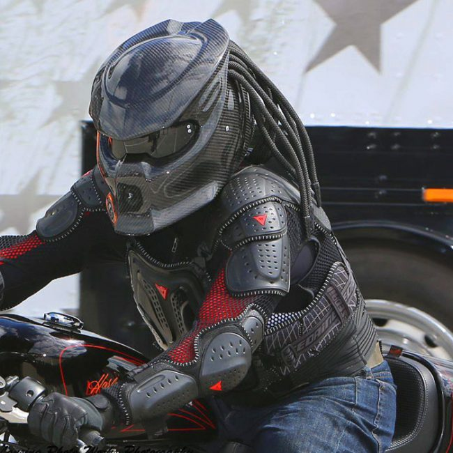 Predator Motorcycle Helmet Dot Approved Alien Vs Predator Bike Crash Helm