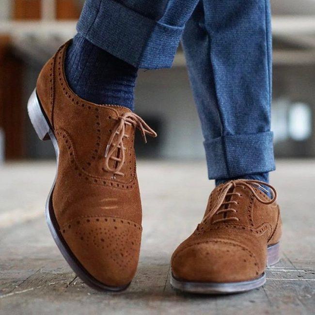 40 Worthy Men's Suede Shoes Ideas