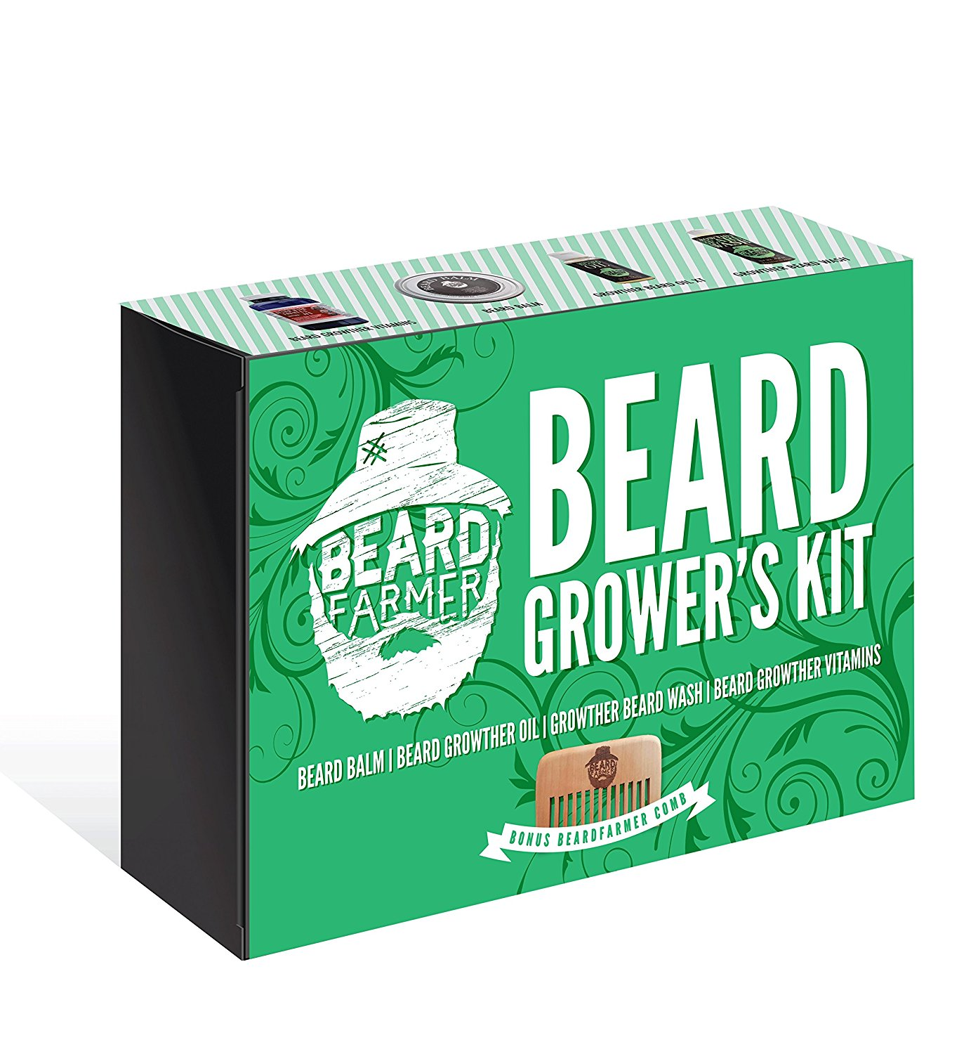 Ultimate Beard Growers Kit (Best Complete Beard Gift Set) Super SALE! 50%...