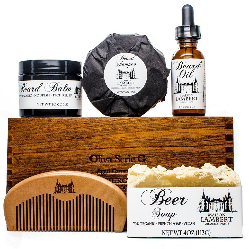 Ultimate Beard Kit Contains: Organic Beard Balm, Organic Beard Oil, Organic Beard...