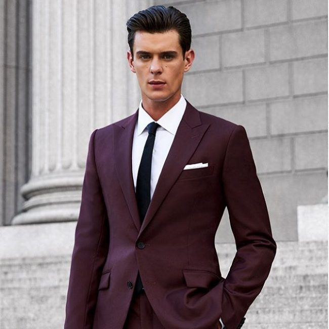 30 Impressive Burgundy Suit Ideas , Cut Above the Rest