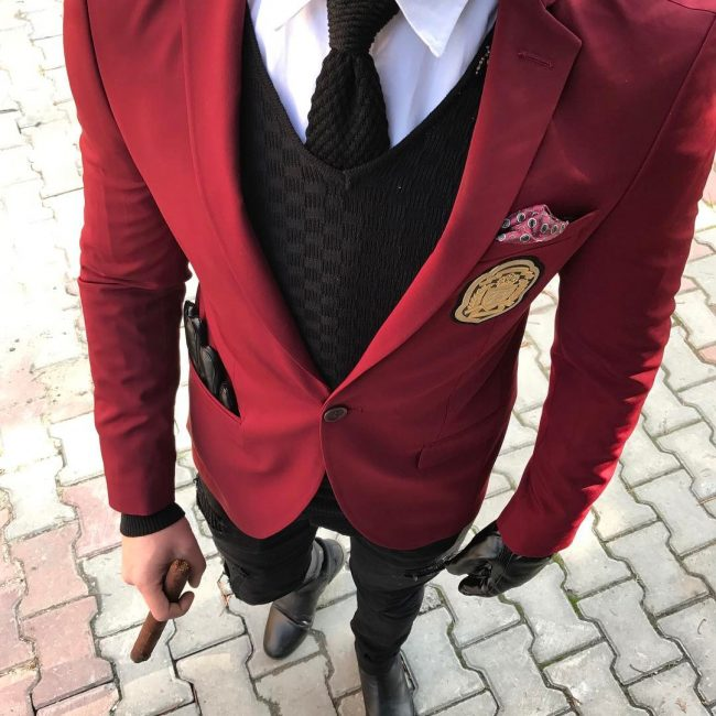 25 Marvellous Black And Red Suit Ideas The Right Way To Stand