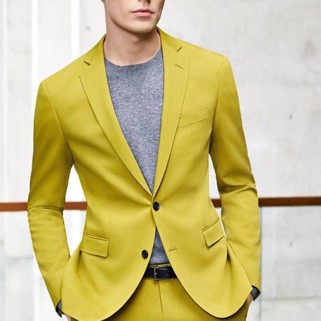 1 Elegant in Mustard Yellow